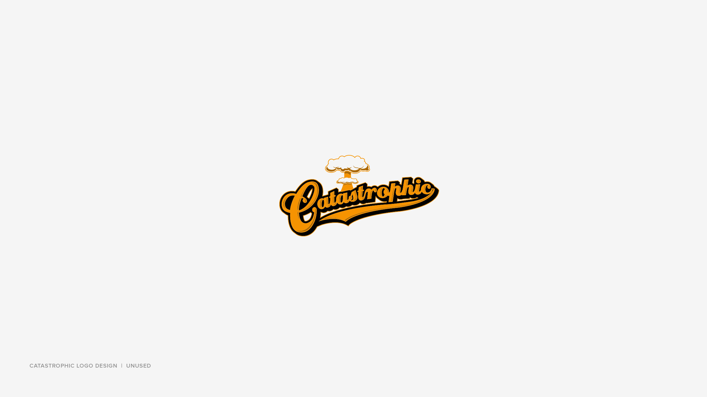 Logo Design Portfolio v.3 10 Catastrophic
