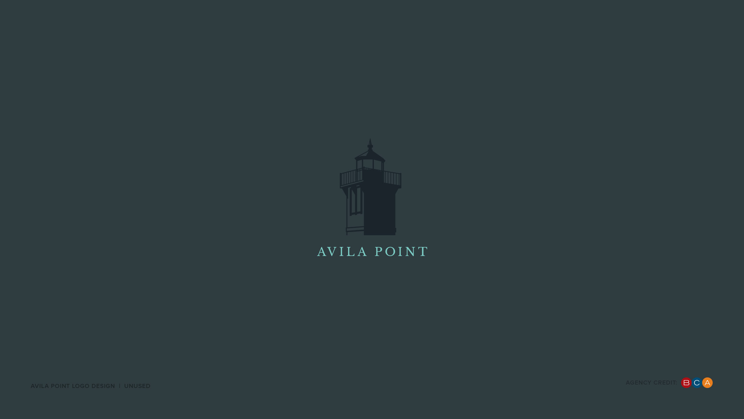 Logo Design Portfolio v.4 4 Avila Point Chevron