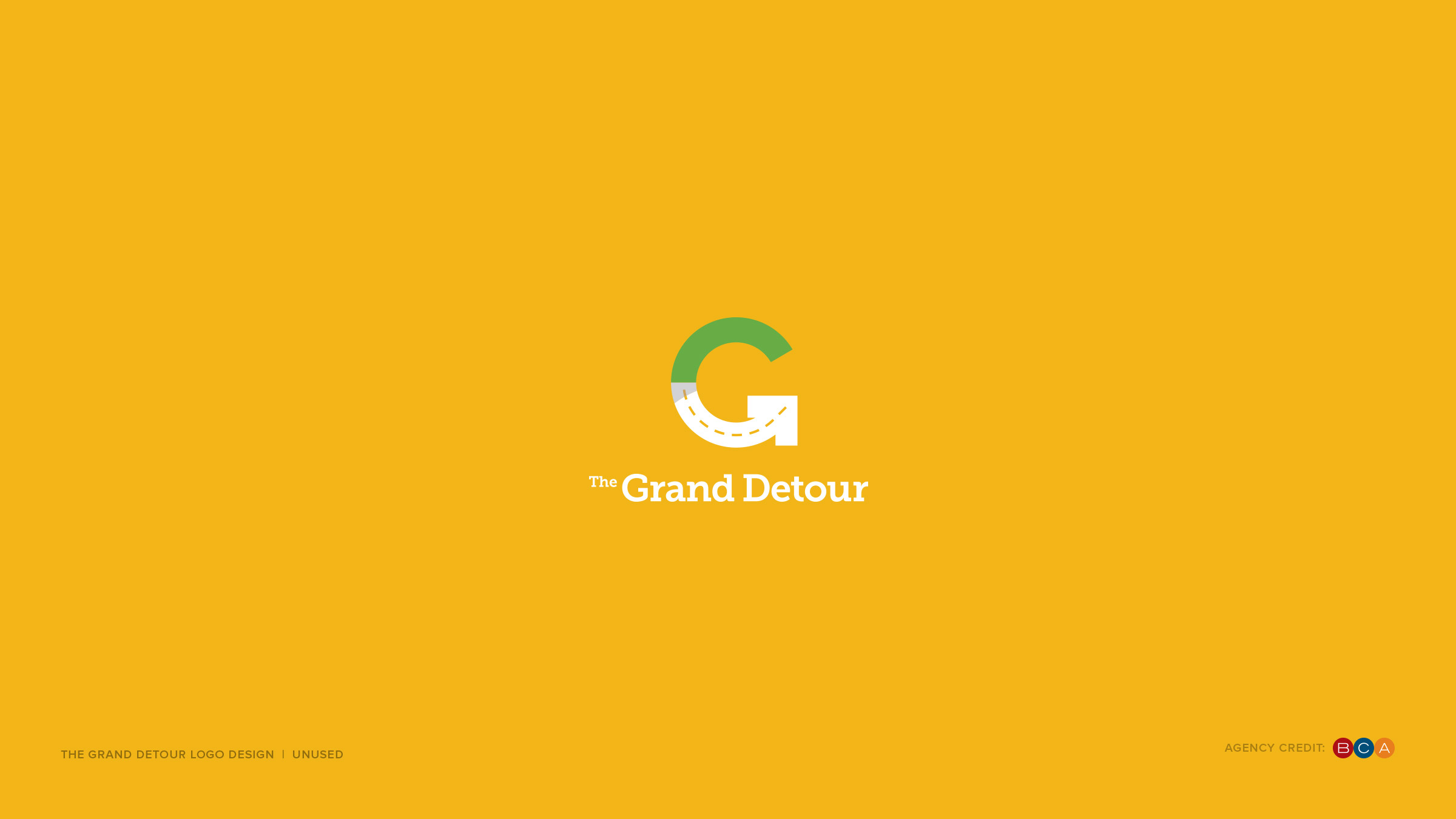 Logo Design Portfolio v.4 7 Grand Detour unused