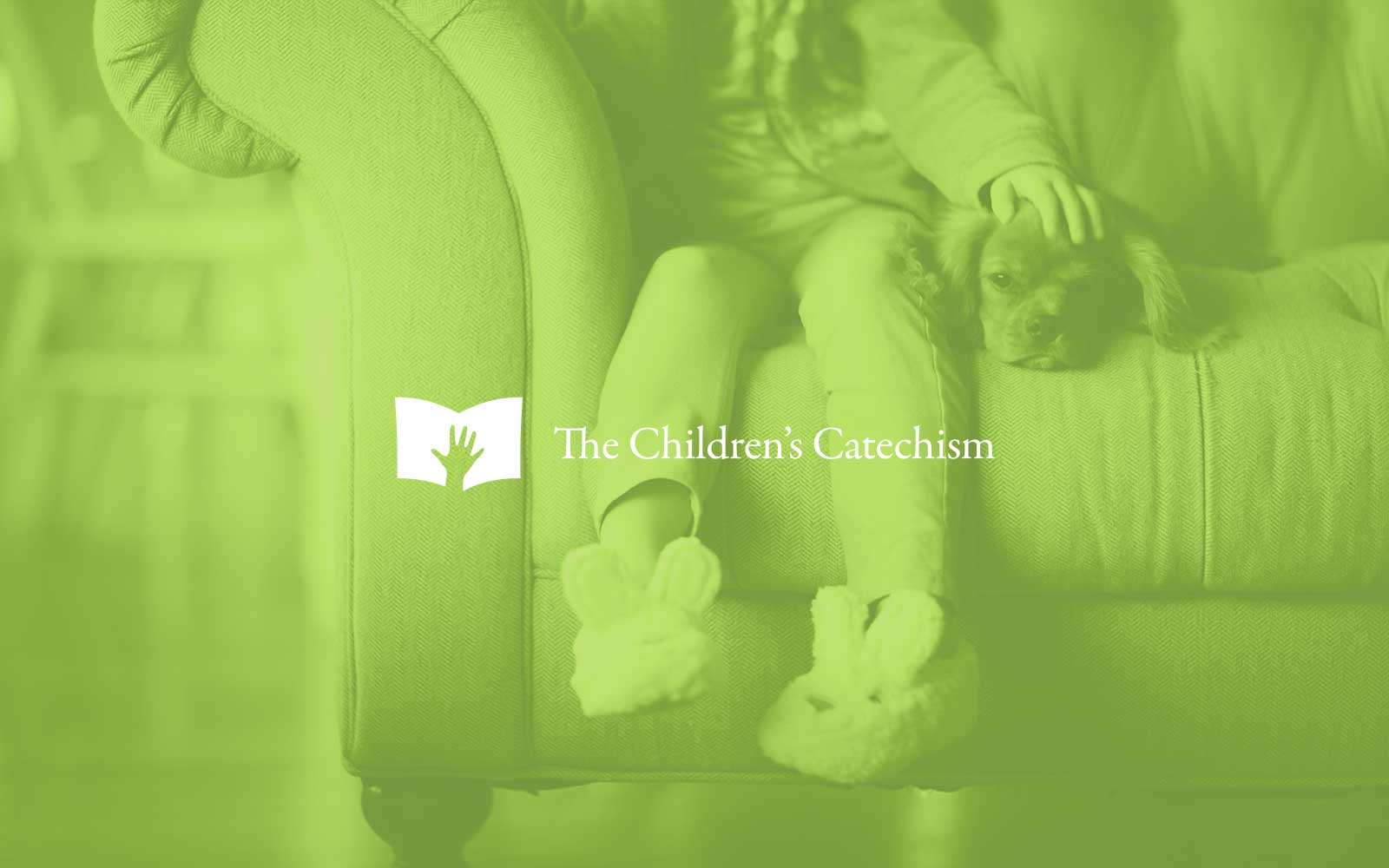 Children's-Catechims-Branding-10 logo inverse over photography