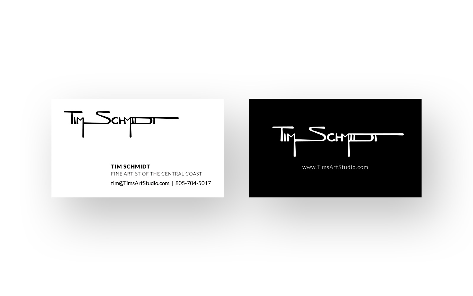 Tim Schmidt Branding, business cards